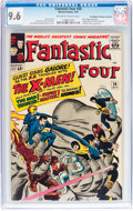 Silver Age (1956-1969):Superhero, Fantastic Four #28 Don/Maggie Thompson Collection pedigree (Marvel,1964) CGC NM+ 9.6 Off-white to white pages....