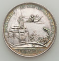 Betts Medals, 1782 Holland Commerce, Small Letters MS60 Cleaned Uncertified.Betts-605. Silver, 33 mm....