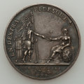 Betts Medals, 1782 Netherlands-American Friendship Medal AU50 CleanedUncertified. Betts-606. Silver, 32 mm....