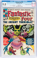 Silver Age (1956-1969):Superhero, Fantastic Four #24 Don/Maggie Thompson Collection pedigree (Marvel,1964) CGC NM/MT 9.8 White pages....