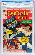 Silver Age (1956-1969):Superhero, Fantastic Four #22 Don/Maggie Thompson Collection pedigree (Marvel,1964) CGC NM+ 9.6 White pages....
