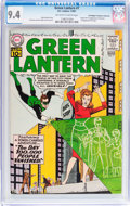Silver Age (1956-1969):Superhero, Green Lantern #7 Don/Maggie Thompson Collection pedigree (DC, 1961) CGC NM 9.4 Off-white to white pages....