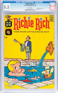 Silver Age (1956-1969):Humor, Richie Rich #1 (Harvey, 1960) CGC VF+ 8.5 White pages....