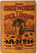 Books:Americana & American History, [Leon Ray Livingston]. A-No. 1. From Coast to Coast with JackLondon. Erie: A-No. 1, 1917. First Edition by the 'Kin...