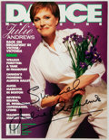 Books:Periodicals, [Julie Andrews]. Richard Philp, editor. SIGNED. Issue of DanceMagazine. New York: Stern, September, 1995. Signed by...