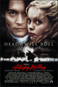 "Movie Posters:Fantasy, Sleepy Hollow (Paramount, 1999). One Sheets (2) (27"" X 40"") DSAdvance. Fantasy.. ... (Total: 2 Items)"