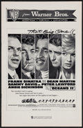 "Movie Posters:Crime, Ocean's 11 (Warner Brothers, 1960). Uncut Pressbook (16 Pages, 11""X 17""). Crime.. ..."