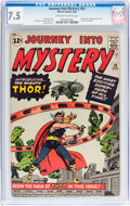 Silver Age (1956-1969):Superhero, Journey Into Mystery #83 (Marvel, 1962) CGC VF- 7.5 Off-white towhite pages....