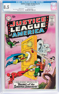 Silver Age (1956-1969):Superhero, Justice League of America #2 (DC, 1961) CGC VF+ 8.5 Cream tooff-white pages....
