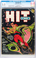 Golden Age (1938-1955):Superhero, Hit Comics #5 (Quality, 1940) CGC VG- 3.5 Cream to off-white pages....