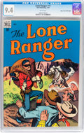 Golden Age (1938-1955):Western, Lone Ranger #11 Mile High pedigree (Dell, 1949) CGC NM 9.4 Whitepages....