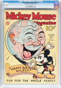 Platinum Age (1897-1937):Miscellaneous, Mickey Mouse Magazine V2#1 (K. K. Publications/ Western PublishingCo., 1936) CGC VF+ 8.5 Off-white to white pages....
