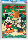 Platinum Age (1897-1937):Miscellaneous, Mickey Mouse Magazine #9 (K. K. Publications/ Western PublishingCo., 1936) CGC FN- 5.5 Slightly brittle pages....