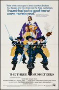 """Movie Posters:Swashbuckler, The Three Musketeers (20th Century Fox, 1974). One Sheet (27"""" X 41"""") & Lobby Cards (8) (11"""" X 14""""). Swashbuckler.. ... (Total: 9 Items)"""