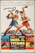 """Movie Posters:Action, Duel of the Titans (Paramount, 1963). Poster (40"""" X 60""""). Action....."""