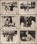"""Movie Posters:Romance, Over the Border (Paramount, 1922). Lobby Cards (6) (11"""" X 14""""). Romance.. ... (Total: 6 Items)"""