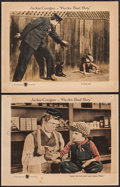 "Movie Posters:Comedy, Peck's Bad Boy (First National, 1921). Lobby Cards (2) (11"" X 14""). Comedy. ... (Total: 2 Items)"