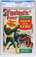 Silver Age (1956-1969):Superhero, Fantastic Four #32 Don/Maggie Thompson Collection pedigree (Marvel,1964) CGC NM+ 9.6 Off-white to white pages....