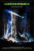 "Movie Posters:Science Fiction, Godzilla (Columbia/Tristar, 1998). One Sheets (2) (27"" X 40"") DS Advance. Science Fiction.. ... (Total: 2 Items)"