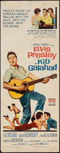 "Movie Posters:Elvis Presley, Kid Galahad (United Artists, 1962). Insert (14"" X 36""). ElvisPresley.. ..."