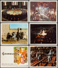 "Movie Posters:Musical, Camelot (Warner Brothers-Seven Arts, 1967). Deluxe Lobby Card Set of 9 (12.5"" X 16""). Musical.. ... (Total: 9 Items)"