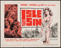 "Movie Posters:Adventure, Isle of Sin (Manson Distributing, 1962). Half Sheet (22"" X 28"").Adventure.. ..."