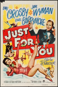 "Just for You (Paramount, 1952). One Sheet (27"" X 41""). Musical"