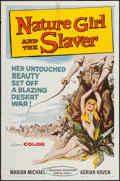 "Movie Posters:Adventure, Nature Girl and the Slaver (United Producers, 1959). One Sheet (27""X 41""). Adventure.. ..."
