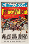"Movie Posters:Adventure, Prince Valiant (20th Century Fox, 1954). One Sheet (27"" X 41"").Adventure.. ..."
