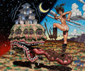 "Original Comic Art:Paintings, Robert Williams ""Regal Rez"" Painting Original Art (c. 2005)...."