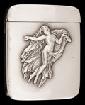 Silver Smalls:Match Safes, A FAIRCHILD SILVER AND SILVER GILT MATCH SAFE . Fairchild &Co., New York, New York, circa 1900. Marks: F STERLING.2-1/...