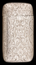 Silver Smalls:Match Safes, A GORHAM SILVER MATCH SAFE . Gorham Manufacturing Co., Providence,Rhode Island, circa 1908. Marks: (lion-anchor-G), STERL...
