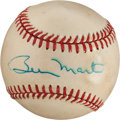 Baseball Collectibles:Balls, 1984-89 Billy Martin Single Signed Baseball. ...