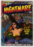 Golden Age (1938-1955):Horror, Nightmare #1 (Ziff-Davis, 1952) Condition: VG/FN....