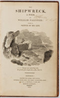 Books:Literature Pre-1900, William Falconer. The Shipwreck. London: Cadell and Davies,et al: 1808. Third edition. Contemporary full tree calf....