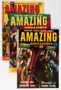 Golden Age (1938-1955):Science Fiction, Amazing Adventures #2, 5, and 6 Group (Ziff-Davis, 1951-52)....(Total: 3 Comic Books)