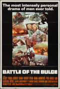 """Movie Posters:War, Battle of the Bulge (Warner Brothers, 1966). Poster (40"""" X 60"""").War.. ..."""