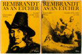 Books:Art & Architecture, Christopher White. Rembrandt as an Etcher. London: Penn State Press, [1969]. First edition. Two quarto volumes. Publ... (Total: 2 Items)