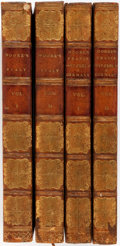 Books:World History, [Europe]. John Moore. A View of Society and Manners in Italy [and:] A View of Society and Manners in France, Swi... (Total: 4 Items)
