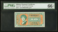 Military Payment Certificates:Series 541, Series 541 10¢ PMG Gem Uncirculated 66 EPQ.. ...