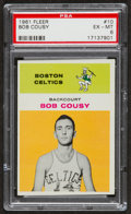 Basketball Cards:Singles (Pre-1970), 1961 Fleer Bob Cousy #10 PSA EX-MT 6....