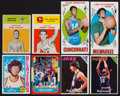Basketball Cards:Lots, 1961-1986 Topps & Fleer Basketball Card Collection (69) WithAlcindor Rookie. ...