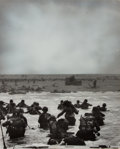 Books:Photography, [American Heritage]. Enhanced Photograph Reprint of the Normandy Landing. From the U.S. Coast Guard, circa 1960s...