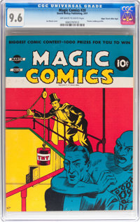 Magic Comics #20 Mile High pedigree (David McKay Publications, 1941) CGC NM+ 9.6 Off-white to white pages