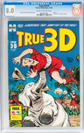 Golden Age (1938-1955):Adventure, True 3-D #1 (Harvey, 1953) CGC VF 8.0 Cream to off-white pages....