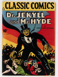 Golden Age (1938-1955):Classics Illustrated, Classic Comics #13 Dr. Jekyll and Mr. Hyde (Gilberton, 1943) Condition: VG/FN....