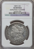 Morgan Dollars, 1889-S $1 -- Improperly Cleaned -- NGC Details. AU. NGC Census:(69/5108). PCGS Population (171/8039). Mintage: 700,000. Nu...