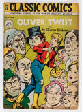 Golden Age (1938-1955):Classics Illustrated, Classic Comics #23 Oliver Twist - First Edition (Gilberton, 1945)Condition: Apparent FN/VF....