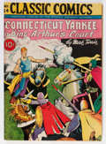 Golden Age (1938-1955):Classics Illustrated, Classic Comics #24 A Connecticut Yankee in King Arthur's Court - First Edition (Gilberton, 1945) Condition: FN/VF....