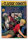Golden Age (1938-1955):Classics Illustrated, Classic Comics #29 The Prince and the Pauper - First Edition (Gilberton, 1946) Condition: VF-....